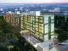 51SQM:1BED Condominium for sale in Jomtien beach - Condominium - Jomtien - Jomtien