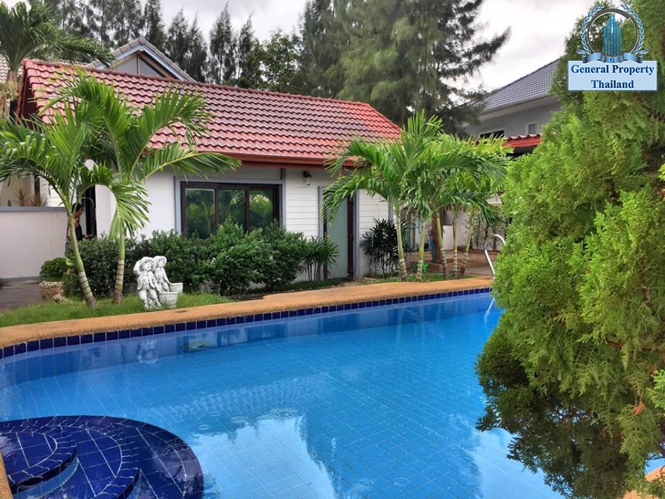 4Bedroom House with Private Swimming Pool for rent at Siam Country Club