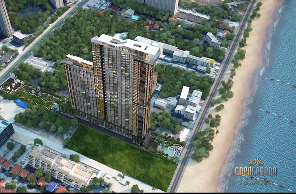 Luxury Condominium for investment at Jomtien Beach!