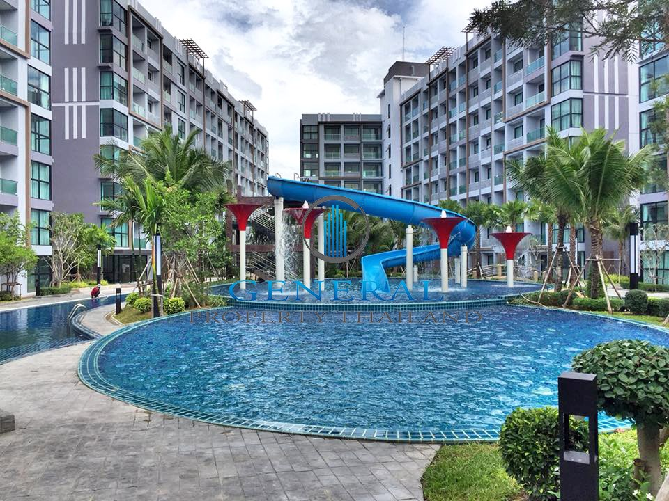35SQM:1BED CONDOMINIUM FOR RENT IN JOMTIEN